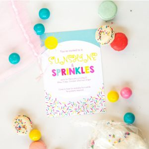 sunshineandsprinklesparty