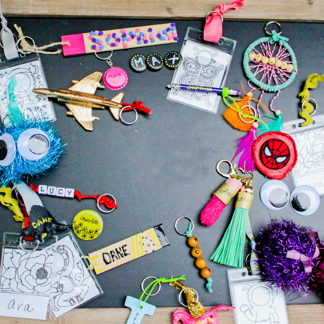 BACK TO SCHOOL : DIY BACKPACK NAMETAGS AND ACCESORIES