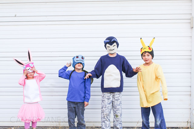 EASY DIY POKEMON COSTUMES