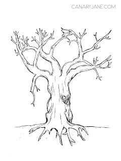 free printable thankful tree canaryjane