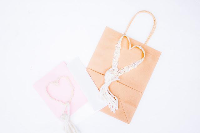 valentine ribbon craft