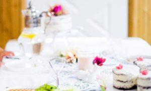 valentine floral table runner free printable