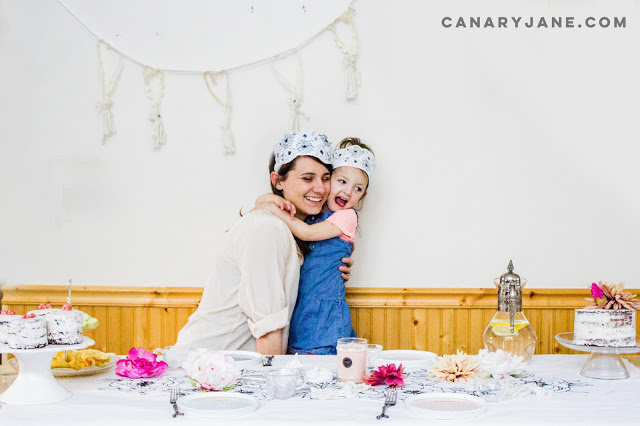 PRINTABLE FLORAL CROWN + PHOTO PROPS Canary Jane