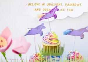 unicorn rainbow baby gender reveal