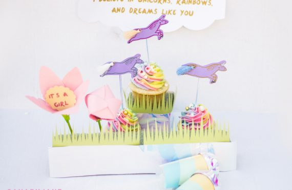 UNICORN & RAINBOWS BABY GENDER REVEAL