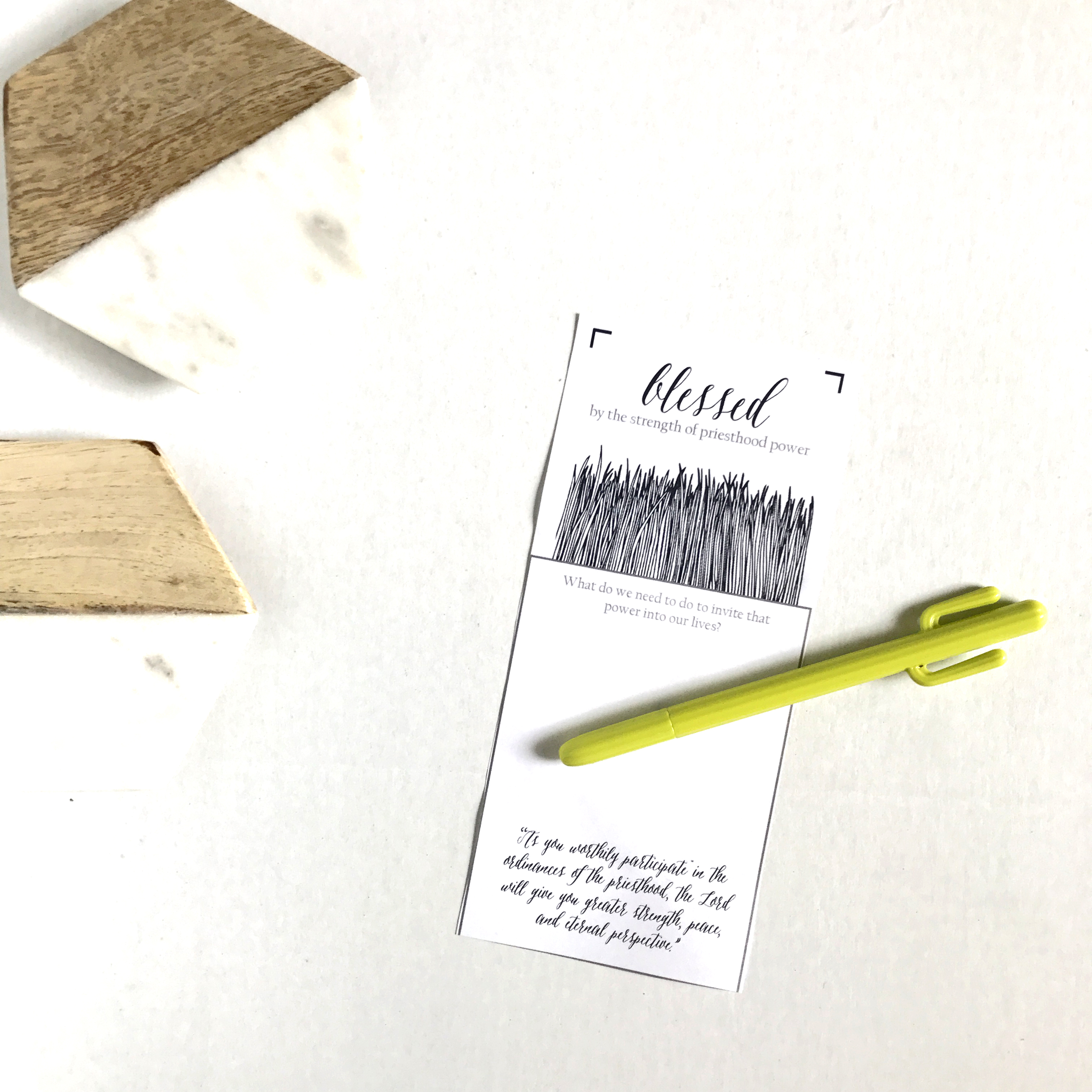 visting teaching printable june