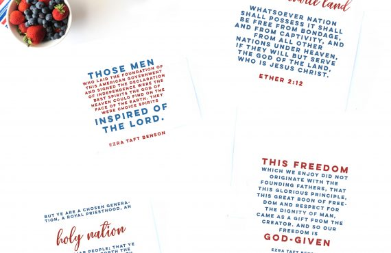patriotic scriptures lds