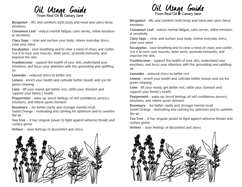 essential oils usage guide
