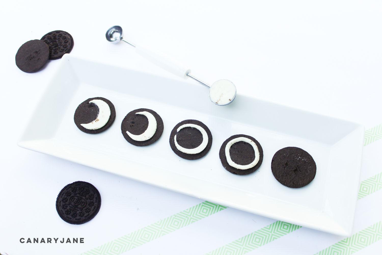 solar eclipse cookies