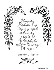 october general conference coloring pages