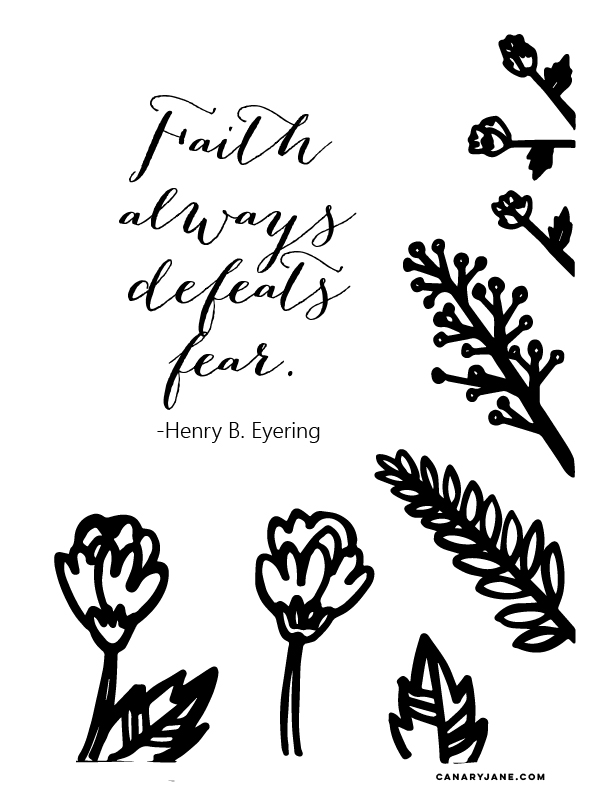 october general conference free printables