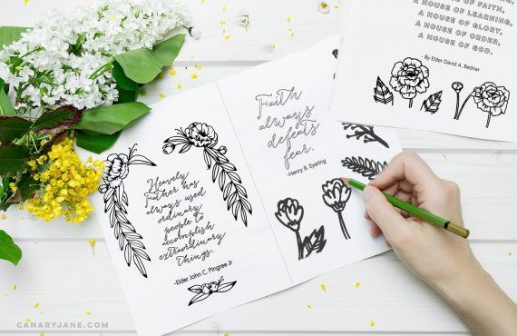 general conference coloring pages