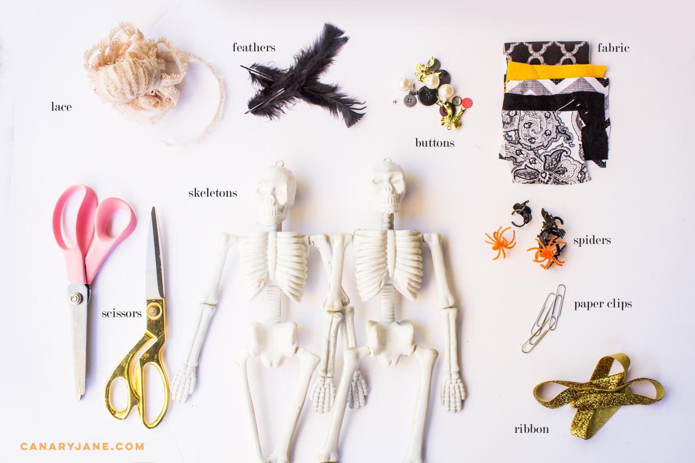 skeleton diy