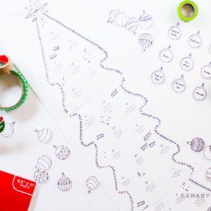 christmas free printable advent