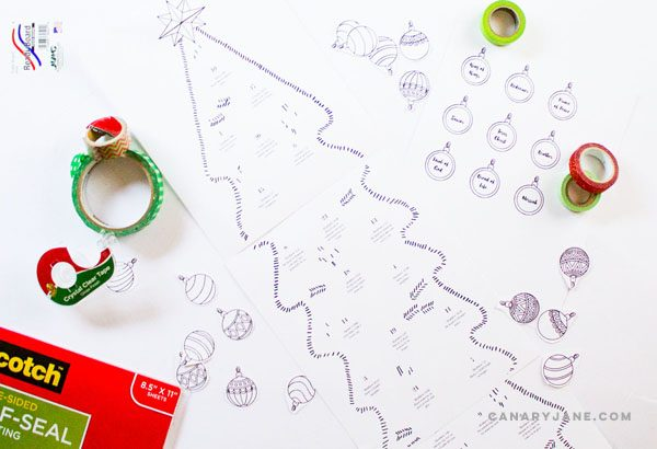 christmas free printable advent