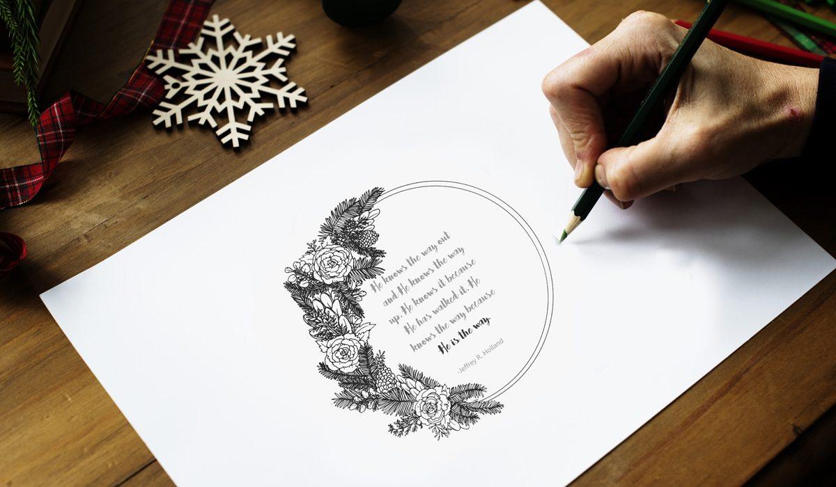 december visiting teaching message