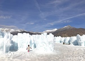 ice castle in midway utah