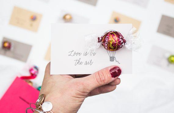 hot ait ballooon free printable valentine