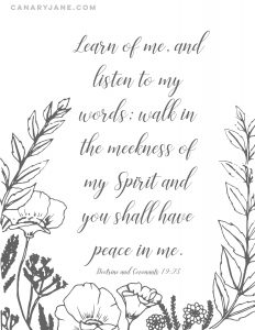 learn of me scripture printable-01-01