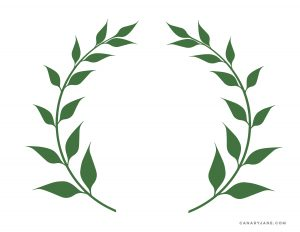 olive wreath brand free printable placemat olympics