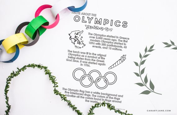 The BEST Olympic Activities for Kids + Free Printables