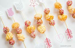 cupid valentine treat