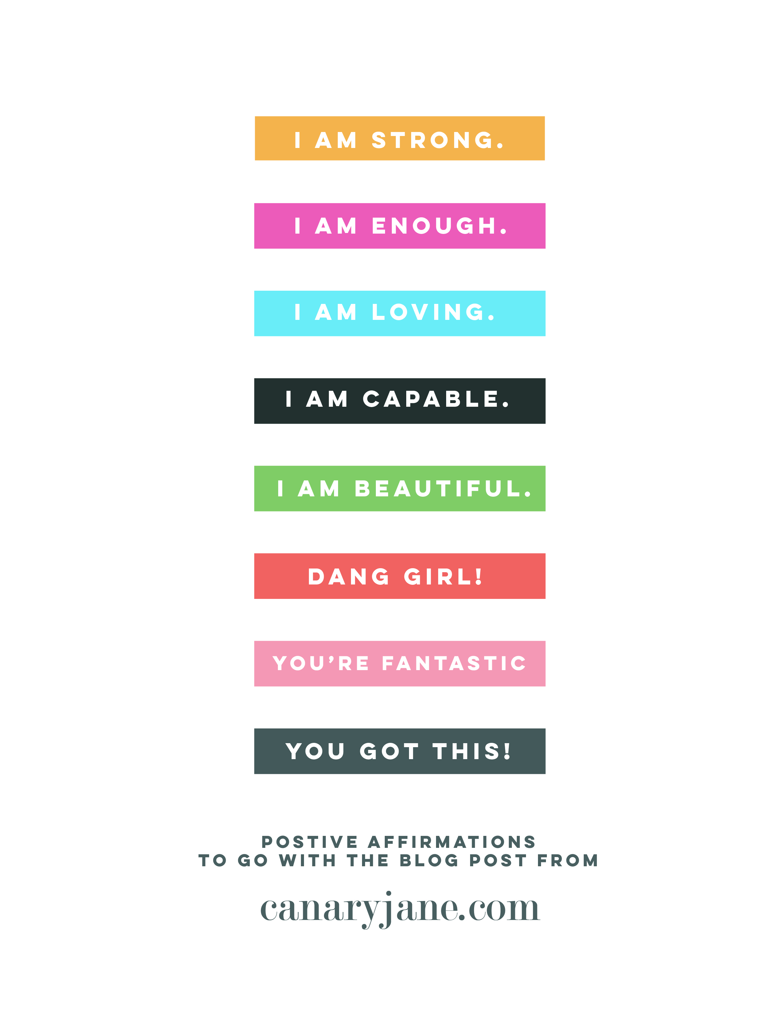 image regarding Printable Positive Affirmations identify 10 Guaranteed Affirmations for Ladies + Absolutely free Printables