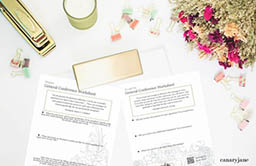 Free Printable General Conference Worksheets