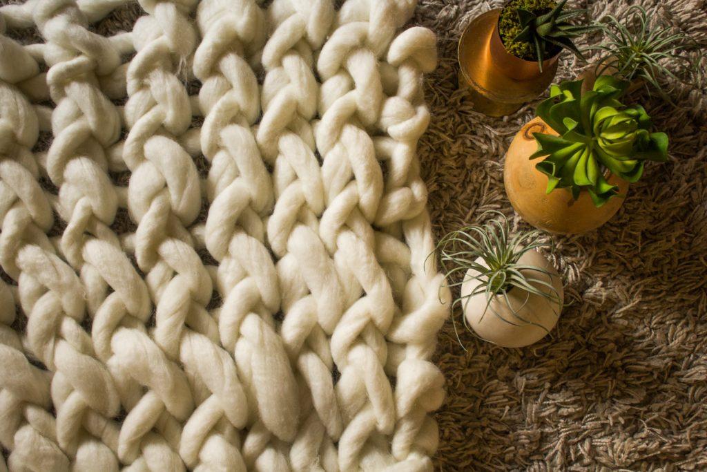 chunky knit blanket class