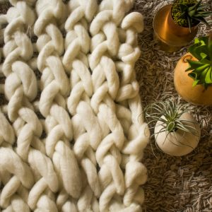 chunky knit blanket class