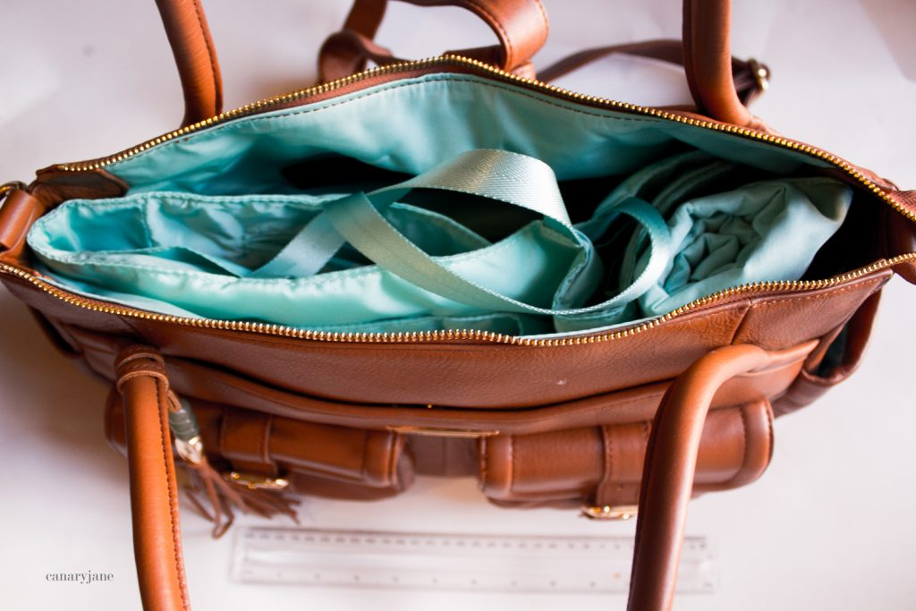 lily and jade diaper bag. one of the bags featured on my diaper bag comparison