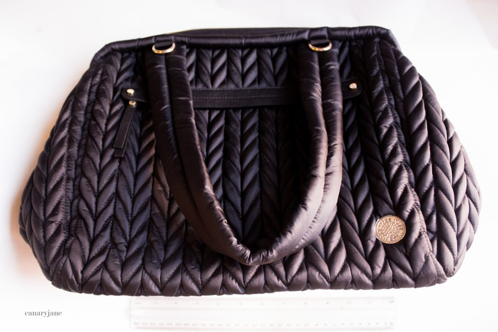 happ diaper bag. one of the bags featured on my diaper bag comparison