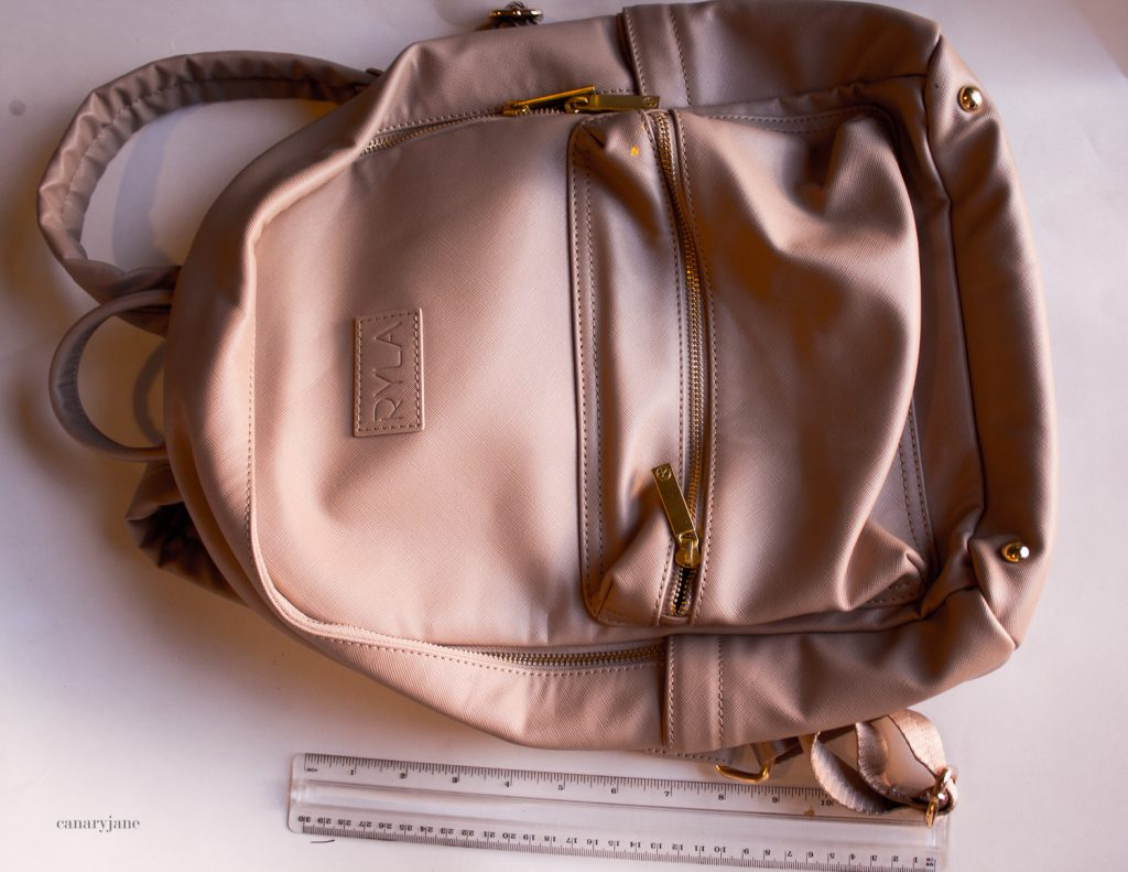 ryla bag. one of the bags featured on my diaper bag comparison