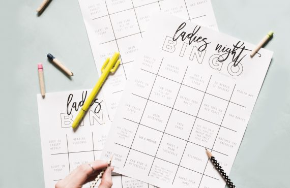 Ladies Night Out Bingo Icebreaker Printable