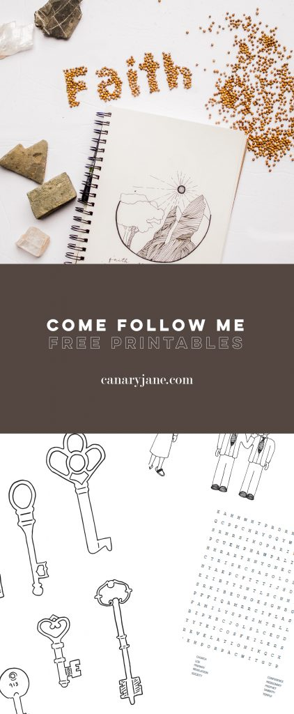 April - Come Follow Me Free Printables. Print these co0loring pages and prints for free to go along with each weeks lesson on LDS.org.