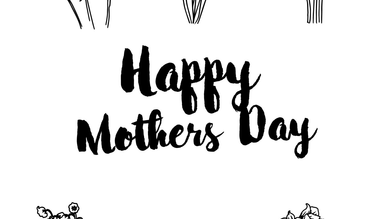 graphic regarding Printable Coloring Mothers Day Cards called Cost-free Printable Coloring Webpages for Moms Working day and Grandma