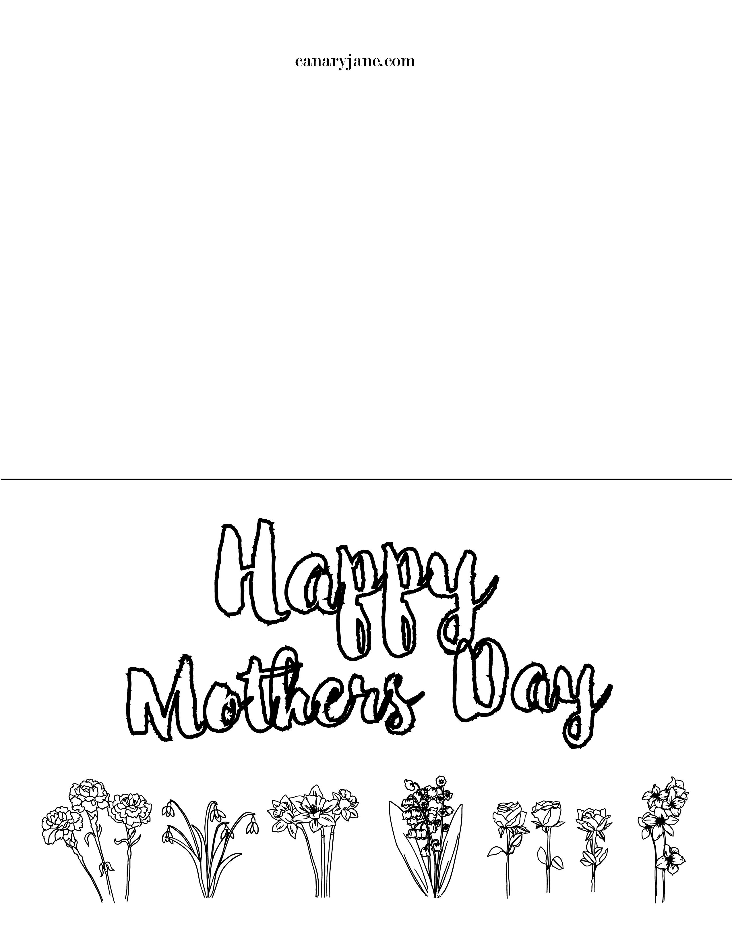Grab these free printable coloring pages for Mothers Day and Grandma. I have different designs so you can print out the card version. There is also a worksheet that shares all you love about mom or draw a picture for Grandma.