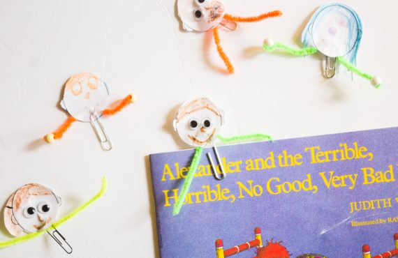 Me Bookmark DIY + Free Printable