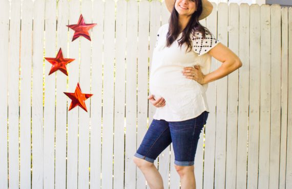 Modest Maternity Fourth of July Outfit Ideas and Styles