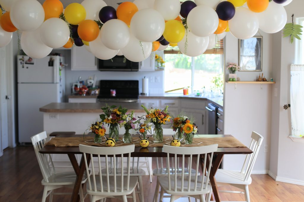 Bumble Bee Party + Free Printable Banner