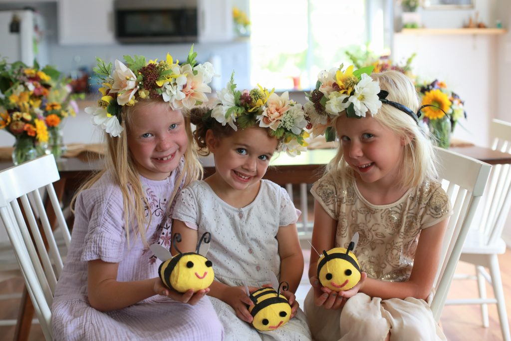 Bumble Bee Party ideas and free printable banner