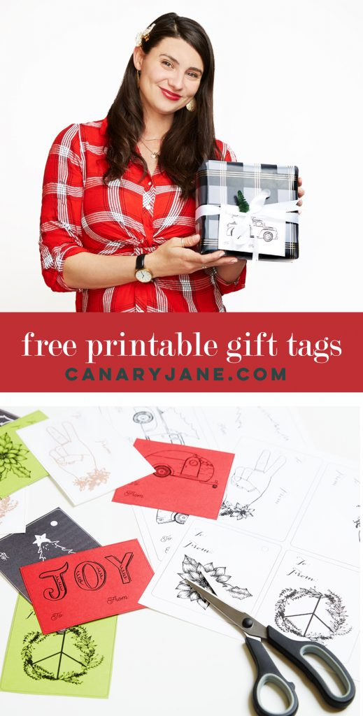 Check out this free printable gift tags styled three ways. We styled it like a classic Christmas present and then showed a fun Bohemian gift wrapping ideas. Check out these gift wrapping tips now.