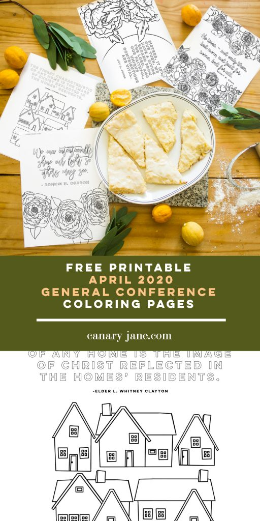 Print off these free printables from the April 2020 LDS General Conference that you can color or just hang. These illustrations and prints and coloring pages are great for your family. We've loved using these in the past for FHE, sunday lessons, and church quiet activities.