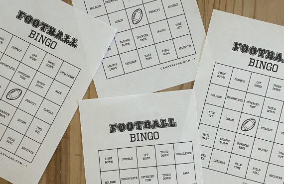 Tons of Fun Football Free Printables in a Bundle +…