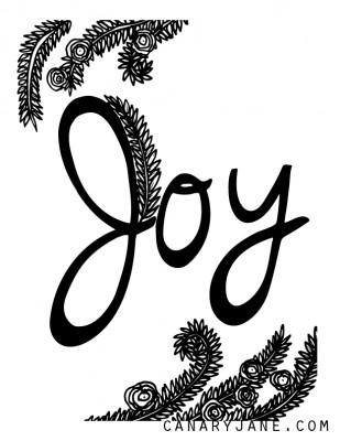 JOY CANARYJANE FREE PRINTABLE-01