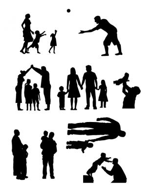 dad game graphics-